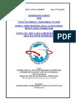 Sample Tender Document