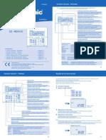 Panasonic Termostato CZ RD513C Manual Usuario F564567 ES