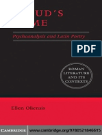 Freud's Rome - Psychoanalysis and Latin Poetry