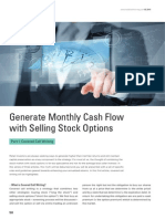 Generate Monthly Cash Flow with Selling Stock Options