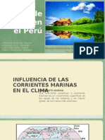 Tipos de Clima en El Perú