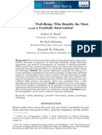 Rash Et Al 2011 - Gratitude and Well-being