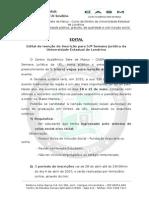 Edital Isenção de Inscrição- 53ª Semana Jurídica