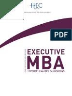 HEC Paris Executive MBA 2014