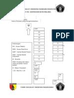 Form Checklist Orientasi Ruangan Pasien Baru