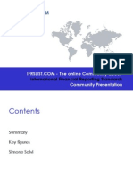 IFRS List - Community Presentation