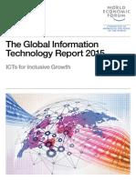 Informe Global de Tecnologías de la Información 2015