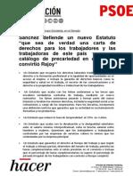 Discurso de Pedro Sánchez ante el Grupo Socialista en el Senado (PDF)