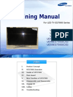 Samsung Training Manual Led TV Uexxes7000 Uexxes7500 En
