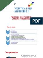 Semana 5- Sesiones 9 y 10 - Pruebas de Hipotesis Para Una Poblacion -2