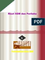 I - Riset SDM-1
