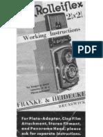 Rolleiflex/Manual