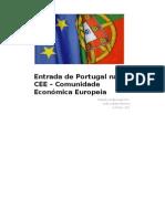 Entrada de Portugal Na CEE – Comunidade Económica