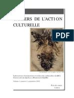 Cahiers Ac