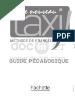Le Nouveau Taxi 3 Guide Pédagogique