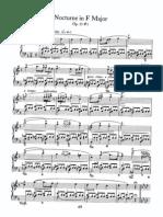Nocturne in F Major, Op. 15 #1