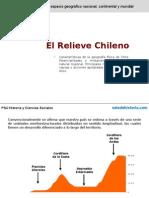 Relieve de Chile