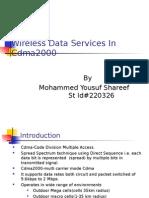 Shareef_Wireless Data Services in Cdma2000