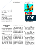 Obat Tradisional Dm Leaflet