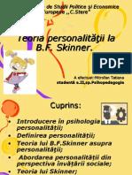 Skinner Psihologia personalitatii