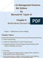 Management Science By Bernard Taylor