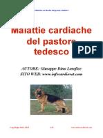 Malattie Cardiache Del Pastore Tedesco