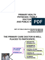 Session 5.1 Primary Healh Care or Family Doctor and Public h