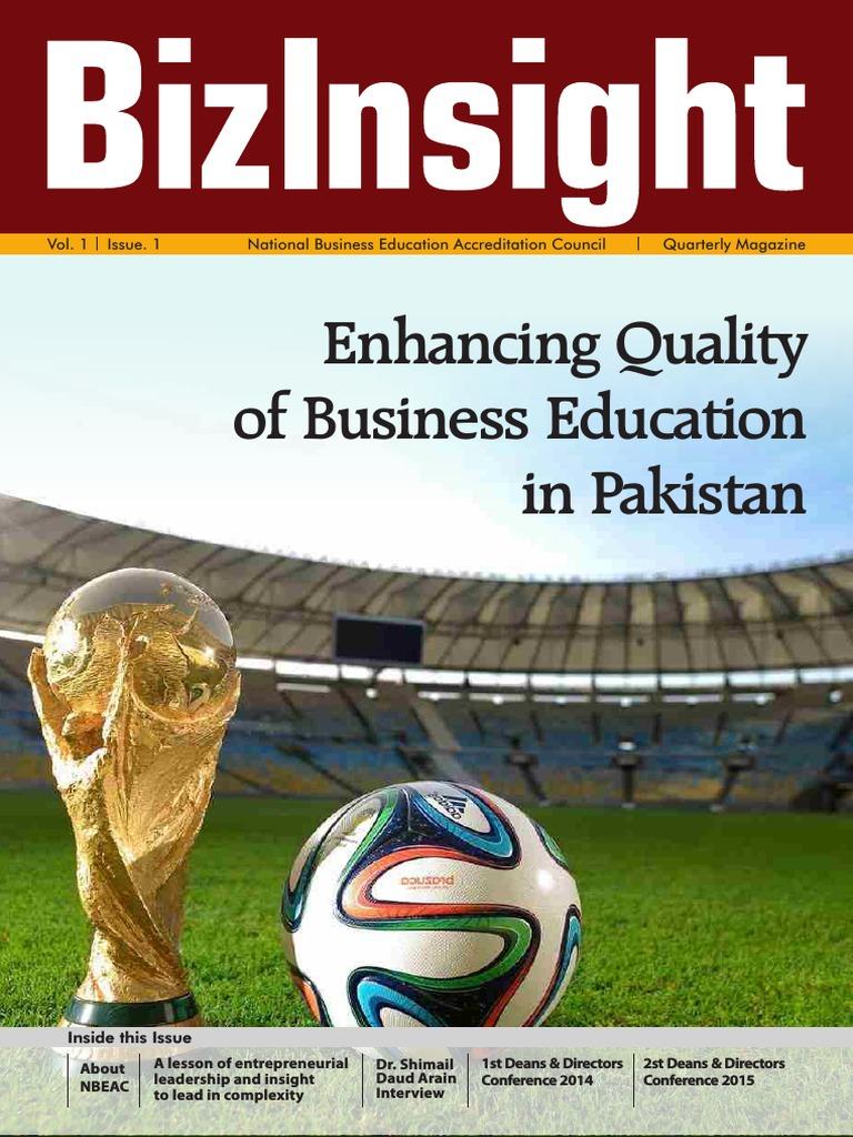 BizInsight NBEAC Magzine Vol1 Issue 1 (2) | Academic Degree