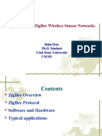 Introduction to ZigBee Wireless Sensor Networks