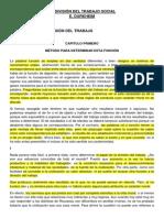 Durkheim - Libro 1 Cap. 1, 2, 3 (p.iv), 6, 7 (p.iv)