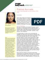 Practical Ayurveda Head Massage