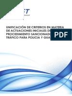 Unificación de Criterios en Materia