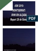 -IOM 2010- MONTSERRAT-OVNI EN ALÇADA-Report 28 de Gener