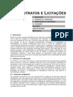 Contrato e Licitações