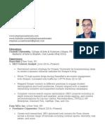 Stephan Maldonado Resume