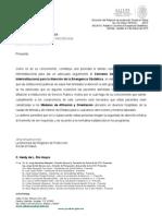 Barrera Zoreda Relativo a Convenio Emergencia Obstetrica