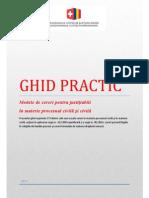 GHID PRACTIC-PROCEDURA CIVILA,CIVILFAMILIEI,MUNCII