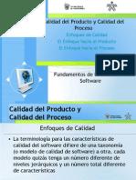 Calidad de Producto y Proceso