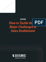 13 Challenges of Sales Enablement