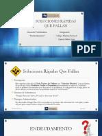Arquetipo 09 - Soluciones Rápidas Que Fallan