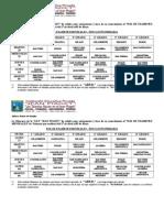Rol de Examenes PrimASaria 2014