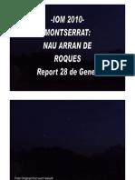 -Iom 2010- Montserrat Nau Arran de Roques-report 28 de Gener