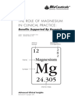 The Role of Magnesium in Clinical Practice
