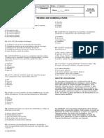 Lista 2 - 1ano - Taxonomia