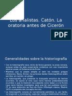 La prosa latina anterior a Cicerón