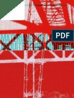 Materiales de La Arquitectura Moderna - Rigotti