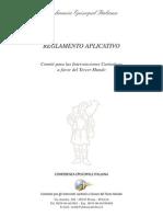 Reglamento CEI (Proyectos)