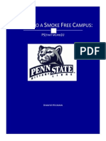 commit to a smoke free campus