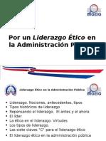 """""""Por Un Liderazgo Ético en La Administración Pública"""" por Rafael Alberto Basora"""