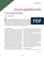 Como afecta la globalización en la educación